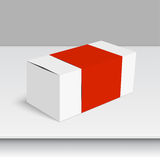 Package white box Royalty Free Stock Photo