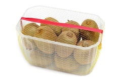 Packaged kiwis Stock Photo