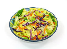 Packaged Salad Mix Overhead View Royalty Free Stock Photography
