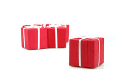 Packages of christmas gifts Stock Photography