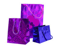 Packages for gifts Royalty Free Stock Image