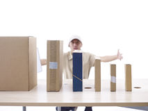 Packages to be delivered Royalty Free Stock Photos