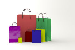Packages Royalty Free Stock Photo