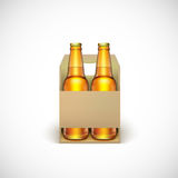 Packaging of beer Royalty Free Stock Photos