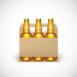 Packaging of beer Stock Photography