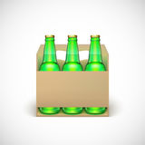 Packaging of beer Royalty Free Stock Images