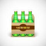 Packaging of beer Stock Image