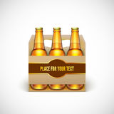 Packaging of beer Stock Images