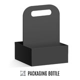 Packaging for bottles Royalty Free Stock Photography