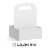 Packaging for bottles Stock Images