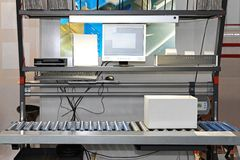 Packaging conveyor systems Royalty Free Stock Photography