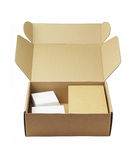 Packaging Boxes Royalty Free Stock Photo