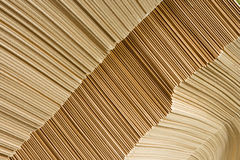 Packaging carboard close-up. Packaging carboard heap for cartons in warehouse close-up Royalty Free Stock Photography
