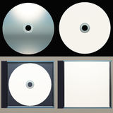 Packaging Design-Cd and Cd Case Stock Images