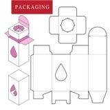 Packaging Design.Vector Illustration of Box. vector illustration