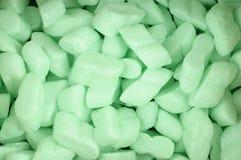 Packaging foam chips Stock Photo