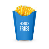 Packaging for French Fries Royalty Free Stock Image