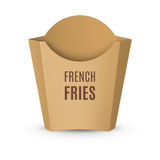 Packaging for French Fries Royalty Free Stock Photography