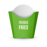 Packaging for French Fries Royalty Free Stock Images