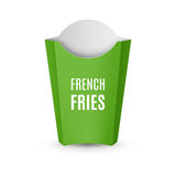 Packaging for French Fries Stock Photography