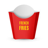 Packaging for French Fries Royalty Free Stock Photo