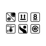 Packaging Icon Template Royalty Free Stock Photos