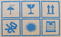 Packaging Icons Royalty Free Stock Image