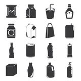 Packaging icons Royalty Free Stock Photo