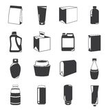 packaging icons Stock Photo
