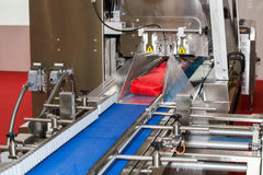 Packaging line machine Stock Photos