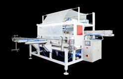 Packaging machine Royalty Free Stock Images