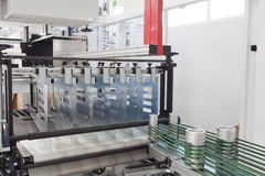 Packaging machine Stock Photos