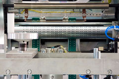 Packaging machine parts Stock Images