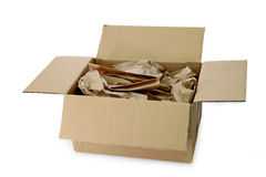 Packaging material Stock Photo