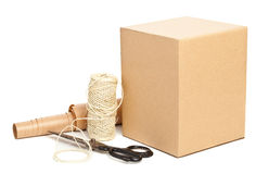 Packaging materials Royalty Free Stock Image