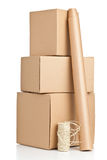 Packaging materials Stock Images