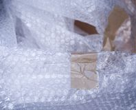 Packaging materials Royalty Free Stock Photography