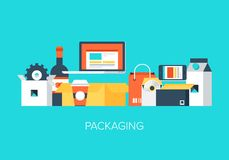 Packaging Royalty Free Stock Image