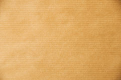 Packaging Paper. A Macro photo of a sheet of packaging paper. For background and textures Royalty Free Stock Photos