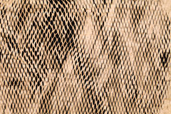 Packaging paper. Detail of brown packaging paper, texture background Royalty Free Stock Photo
