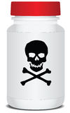 Packaging poison Stock Photo