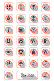 packaging symbols Stock Image