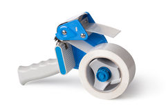 Packaging Tape Gun Dispenser Royalty Free Stock Photo