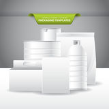 Packaging Templates Royalty Free Stock Images