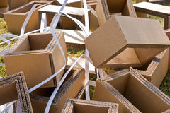Packaging waste Royalty Free Stock Image