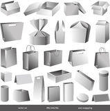 Packar Arkivbild