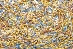 Packar av kablar Arkivfoton