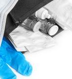 Packar av preventivpillerar Arkivbilder