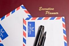 packar executive planner två in Royaltyfri Foto