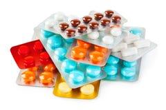 packar pills arkivfoto